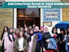 Şehit Erdem Öztürk Mesleki Ve Teknik Anadolu Liseli Gençler Samsun?da